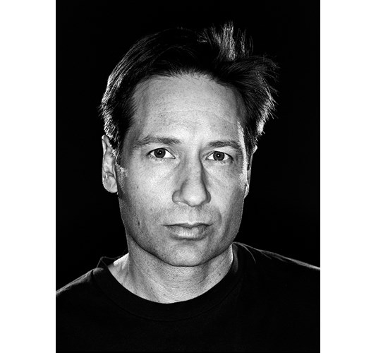 Rainer Hosch - David Duchovny, New York 2005 - Inkjet eco-solvent print on 265 grms MLFD grafiprint paper  Edition of 5 + 2 AP - 104 x 136 cm, 41 x 53.5 in