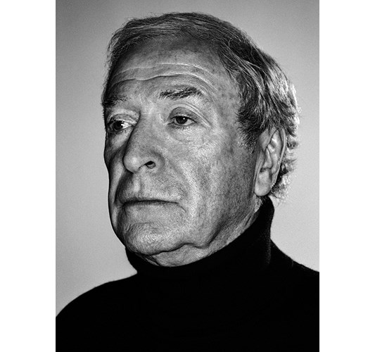 Rainer Hosch - Michael Caine, New York 2003 - Inkjet eco-solvent print on 265 grms MLFD grafiprint paper  Edition of 5 + 2 AP - 104 x 136 cm, 41 x 53.5 in