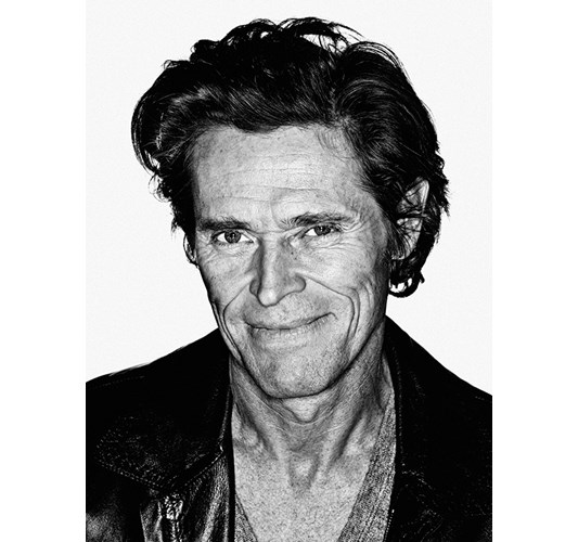 Rainer Hosch - Willem Dafoe, New York 2009 - Inkjet eco-solvent print on 265 grms MLFD grafiprint paper  Edition of 5 + 2 AP - 104 x 136 cm, 41 x 53.5 in