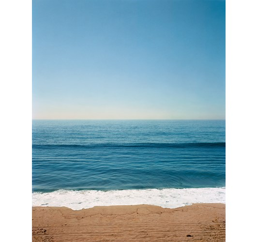 Rainer Hosch - Topanga Beach, 2018 - Archival Pigment print on Hahnemuehle Photo Rag Baryta, available in various sizes - Listed here is maximum size: 186 x 150 cm, 73 x 59 in. Limited to a total edition of 7 + 2 AP