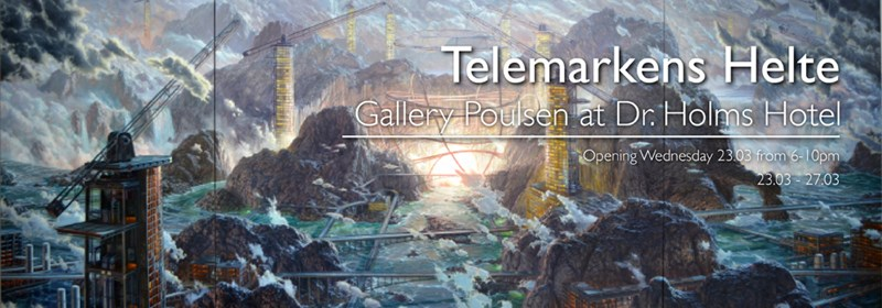 Telemarkens Helte - Gallery Poulsen at Dr. Holms Hotel