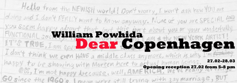 William Powhida - Dear Copenhagen