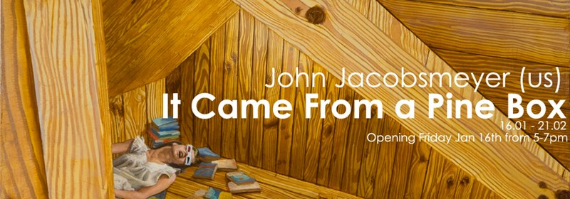 John Jacobsmeyer - It Came from a Pine Box