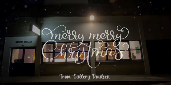 Gallery Poulsen Christmas greeting 2020